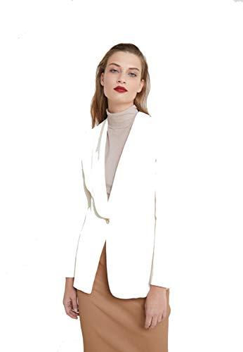 TWIN SET COLLEZIONE 201TT2210 00245 Antique White Twin Set Giacca Donna 44