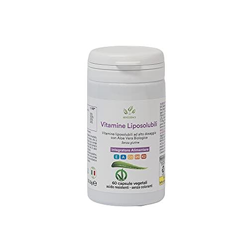 Vitamine Liposolubili, Coenzima Q10 e Aloe Vera - 60 cps