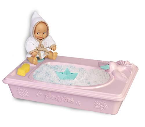 los Barriguitas - Bañera con muñeca bebé y Accesorios (Famosa 700016218)