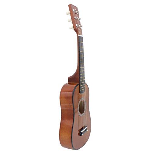 15000P Kindergitarre Rockgitarre Musikinstrument Saiteninstrumente Spielzeug Gitarre für Kinder ab 5 Jahre