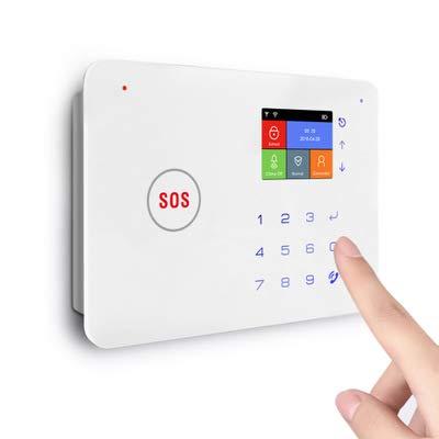 Linshenyoulu Heiß verkaufendes GSM + WiFi drahtlose Alarmanlage Anti-Diebstahl-Alarm zu Hause Anti-Diebstahl-Alarm Host