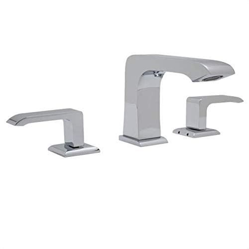 Rohl CA2202LMAPC-2 Rohl CA2202LM-2 Caswell 1.2 GPM Widespread Bathroom Faucet with Pop-Up Drain Ass