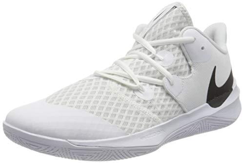 Nike CI2964-100_45, Scarpe da pallavolo Uomo, Bianco, EU