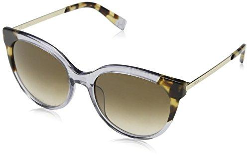 Furla Eyewear Damen N/A Sonnenbrille, Grau (Shiny Transparent Grey), 55