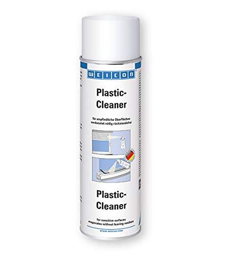 WEICON Plastic Cleaner 500ml plastic reiniger ideaal voor ramen, jaloezieën, camping, keuken, caravan, auto, boot