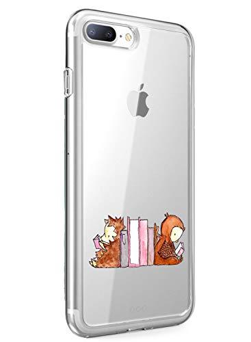 Oihxse Compatible con iPhone 11 Silicona Funda Transparente Gel TPU Flexible Protectora Carcasa Dibujos Elefante Patrón Ultra Thin Estuche Cover Case(D2)