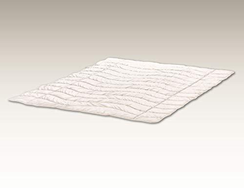 Hüsler Nest Zudecke Leinen/Batist - Luftig kühle & leichte Sommerdecke für heiße Sommernächte (155x220 cm)