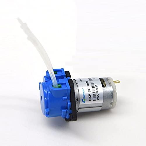 SDLSH Bomba Sumergible 1 2V /24V DC Bomba de dosificación,Bomba peristáltica,Cabezal de dosificación con Conector Bomba de achique para Barco (Voltage : 12V-S10B)