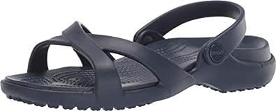 crocs Women's Meleen Crossband Sandal W Fashion