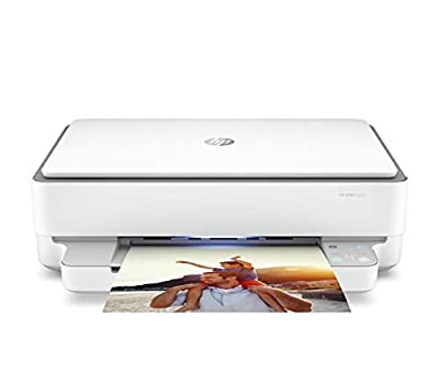HP ENVY 6020 All-in-One Printer with Wireless Printing, Instant Ink with 3 Months Trial, White