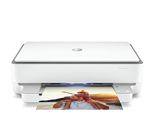 HP Envy 6020 5SE16B Stampante Multifunzione, Stampa, Scansiona, Foto, Wi-Fi Dual-Band, Bluetooth 5.0, USB 2.0, Cassetto da 100 Fogli, Formati Supportati A4, A5, B5, DL, C6, A6, HP Smart, Grigia