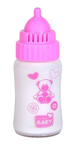 Simba 105560200 New Born Baby Magisches Milchfläschchen, mit Sound