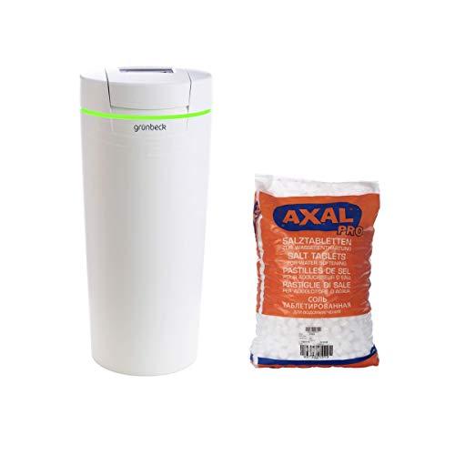 Komplettpaket Grünbeck Wasserenthärtungsanlage softliQ:SD21 mit 1 x 25 kg Regeneriersalz