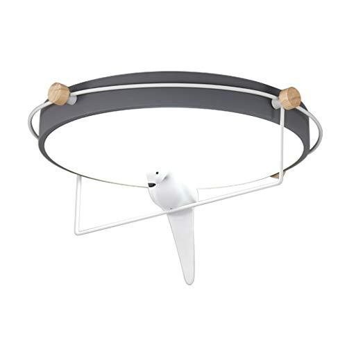 Plafonnier Plafonnier Plafonniers Chambre Forgé En Fer Forgé Personnalité Oiseau En Forme De Plafond Lumière Chambre De La Mode Pour Enfants Lampe De Plafond Étude Créative Homeceiling Lumières