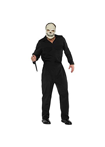 Underwraps - Mono de Horror para Hombre, Color Negro
