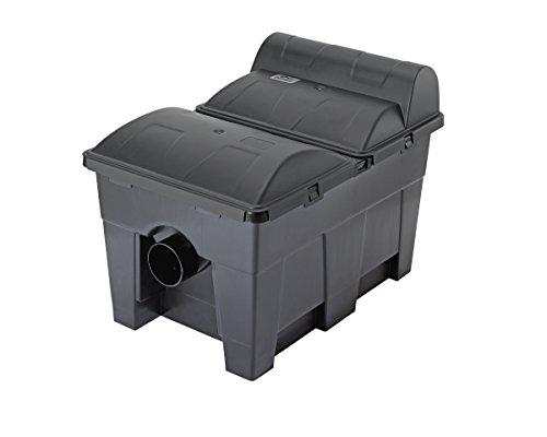 Pontec MultiClear Set 15000 Mehrkammerfilter, Schwarz, 15 l/h