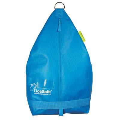 Läusebeutel mit Reißverschluss - Anti- Kopflaus - Läuse säck (Blau)