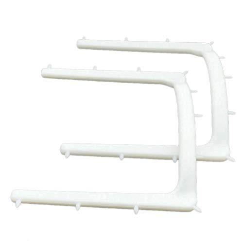SUPVOX 10 Stücke Dental Kofferdam Einwegrahmen Halter Autoklavierbar Gummi Barriere Halterung Distraktor