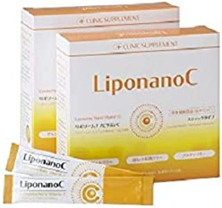 [LiponanoC]リポナノC 1000mg配合 30包[2箱セット] [リポソームビタミンC]パウダータイプ