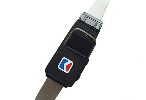 Most Convenient Car Seat Belt or Backpack Phone Holster with Adjustable Size to Fit All iPhone Samsung and Other Smartphones