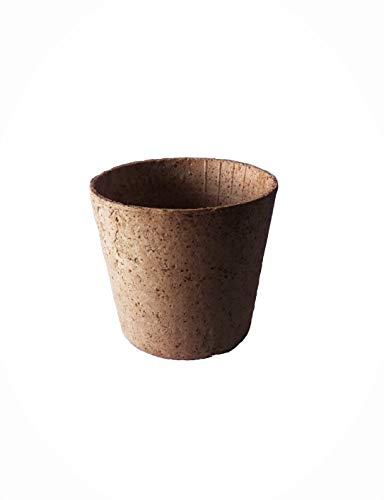 MHM Essbare Bio Kaffeetasse Espresso Waffelbecher Vegan 110ml 60xØ65mm 20 Stück