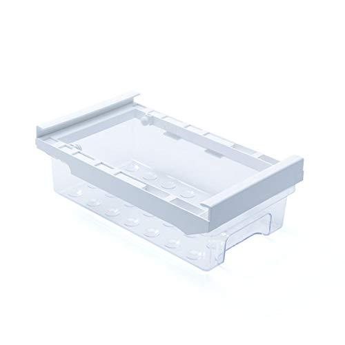 Organizador de cajones de refrigerador, cajón de compartimento extraíble de diseño único, caja de almacenamiento de soporte de estante de refrigerador