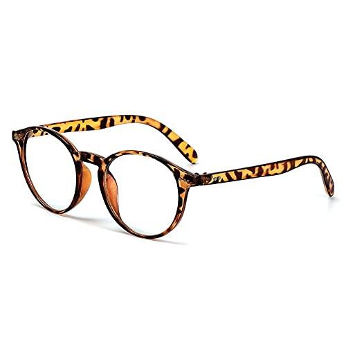 Vidrios De Bloqueo De Luz Azul Gafas Ópticas De Gafas De Gafas De Gafas #2826 (Frame Color : Leopard)