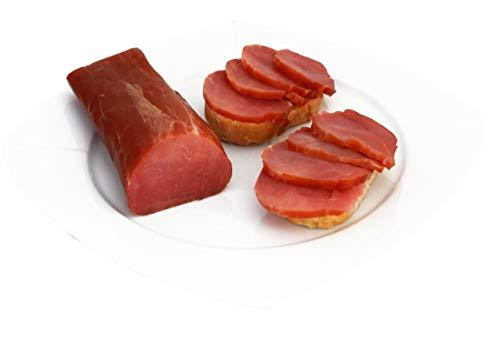 Räucherlende | Feinschmecker Schinken fettarm | Lende geräuchert | Gourmetschinken | Weihnachten Wurstspezialität 300g