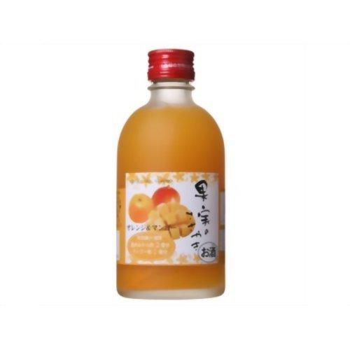 麻原酒造 果実ささやき オレンジ&マンゴー [ リキュール 300ml ]