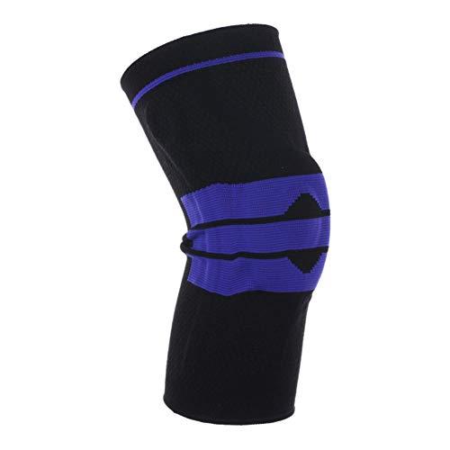 Sueng Sport-Knieschoner, atmungsaktiv, für Wandern, Klettern, Training, Fitness, Training, Nylon, 1 Stück, Blau-L-42-47CM