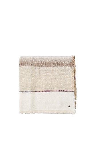 ESPRIT Damen 096EA1Q010 Schal, Braun (Camel 230), One size (Herstellergröße: 1SIZE)