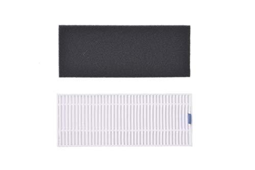 BISSELL Filter-Set | Original Zubehör für den EV675 Staubsaugerroboter 2601N | 2824, Grau/Weiß, 0.09m