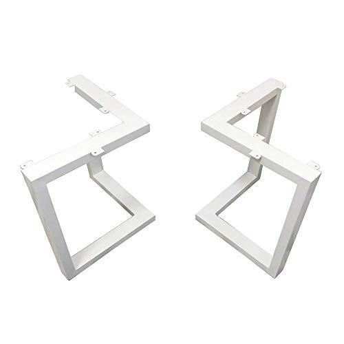 WaiMin Pie de soporte de muebles Patas de mesa de hierro forjado...
