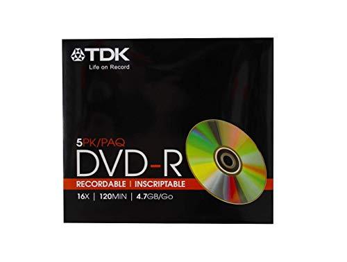 5 each: Tdk Dvd-R (DVD-R47FML5)