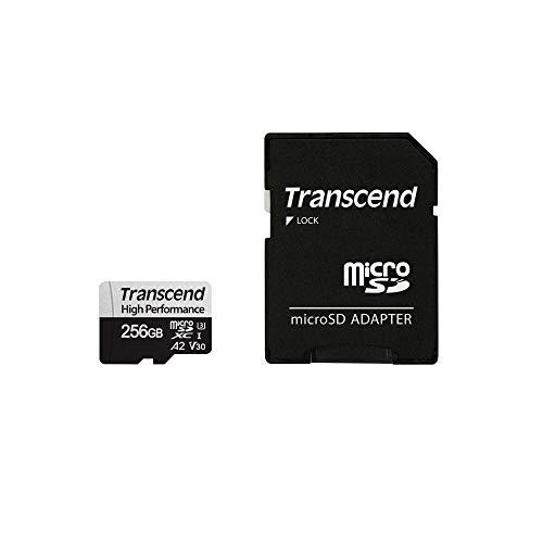 Transcend microSDカード 256GB UHS-I U3 V30 A2 対応 (最大転送速度100MB/s) TS256GUSD330S