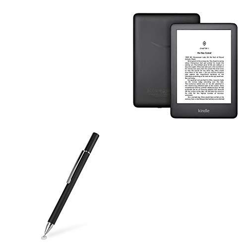 Caneta Stylus Amazon Kindle (10ª geração 2019), BoxWave [FineTouch Capacitive Stylus] Caneta Stylus super precisa para Amazon Kindle (10ª geração 2019) - Preto Jet