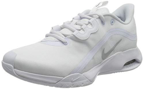 Nike Wmns Air Max Volley, Scarpe da Ginnastica Donna, White/Mtlc Silver, 41 EU