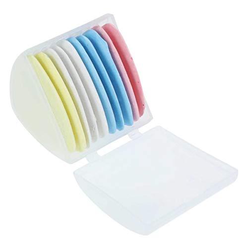 SUPVOX 10 piezas sastres tiza triángulo tizas marcador de tela tiza para confeccionar costura acolchado nociones de artesanía accesorios de marcado de tela
