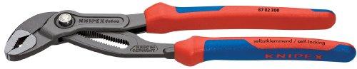 Knipex 8702300 12-Inch Cobra Pliers - Comfort Grip