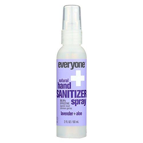 Everyone Sanitizer - Spray - Lavender - Aloe - Case of 6-2 fl oz