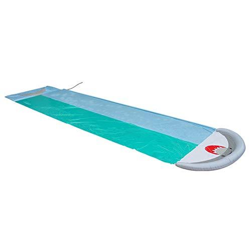 Tobogán acuático gigante para césped, tobogán de silp inflable, centro de juego, tobogán, rociador de agua y almohadilla de choque para niños, niños, verano, patio trasero, juegos de piscina