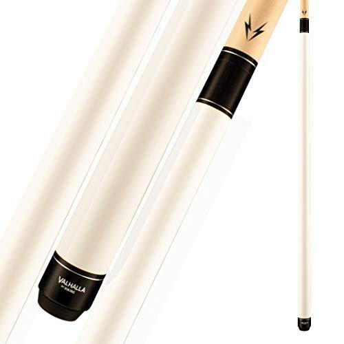 VIKING Valhalla VA108 Pool Cue Stick White 18, 18.5, 19, 19.5, 20, 20.5, 21 oz.
