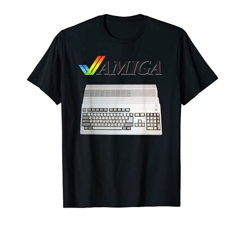 Commodore Amiga 16 Bit Computer T-shirt, Many Colors for Men and Women