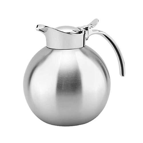 YWSZJ Elegante y práctico cafetera, Acero Inoxidable Esfera térmica Jarra de café Jarra for el café del té