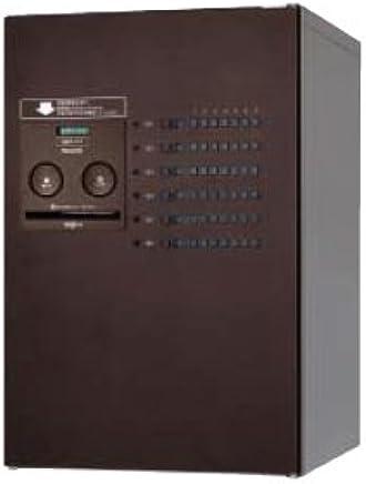 Panasonic 集合住宅用 宅配ボックス コンボ-メゾン ミドルタイプ [CTNR4620L] 左開き 共有使い6錠 パナソニック (エイジングブラウン色)