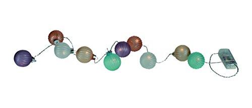 Out of the blue lichtketting met pastelkleurige glazen bolletjes 260020