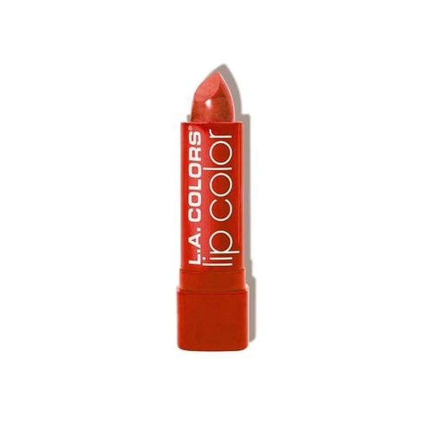 コントロール予備順番(6 Pack) L.A. COLORS Moisture Rich Lip Color - Tropical (並行輸入品)