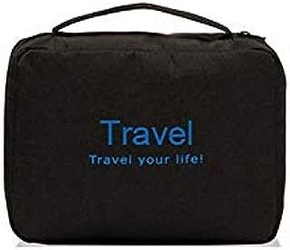 Waterproof Travel Toiletry Bag, Black