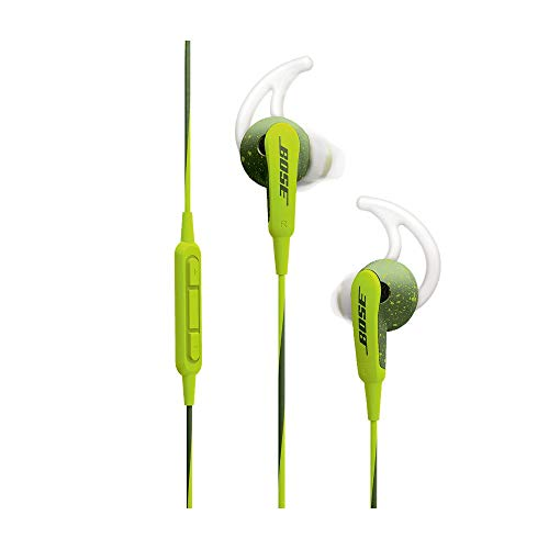 Bose  SoundSport  Cuffie In-Ear per Dispositivi Apple, Verde Brillante