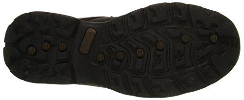Timberland Men's Flume Waterproof Boot,Dark Brown,10.5 M US